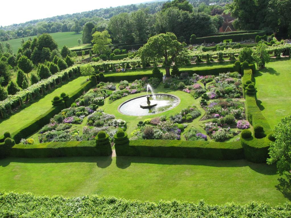 jardines de película Hatfield House West Garden